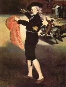 Edouard Manet Mlle Victorine in the Costume of an Espada Germany oil painting reproduction