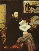 Edouard Manet Portrait of Emile Zola oil painting picture wholesale