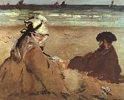 Edouard Manet On the Beach oil painting picture wholesale