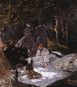 Edouard Manet Dejeuner sur l'herbe(The Picnic) oil painting picture wholesale