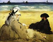 Edouard Manet At the Beach oil painting picture wholesale