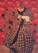 Edouard Vuillard Woman Darning Germany oil painting reproduction