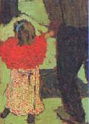 Edouard Vuillard Enfant avec Echarpe Rouge Germany oil painting reproduction
