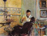 Edouard Vuillard Dr.Georges Viau in His Office Treating Annette Roussel oil painting picture wholesale
