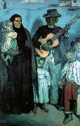 Emile Bernard Spanish Musicians Germany oil painting reproduction