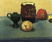 Emile Bernard Earthenware Pot and Apples oil painting picture wholesale