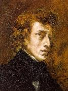 Eugene Delacroix Portrait of Frederic Chopin oil painting picture wholesale
