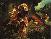 Eugene Delacroix Tiger Hung oil painting picture wholesale