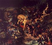 Eugene Delacroix The Battle of Taillebourg oil painting artist