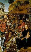 FERNANDES, Vasco Adoration of the Magi dfg oil painting artist