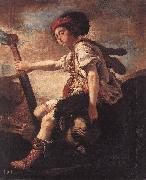 FETI, Domenico David with the Head of Goliath dfg oil