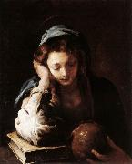 FETI, Domenico The Repentant St Mary Magdalene dfr oil