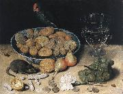 FLEGEL, Georg Dessert Still-Life fdg oil painting artist