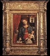 FOPPA, Vincenzo Madonna and Child with an Angel deu oil painting picture wholesale