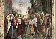 FRANCIA, Francesco The Marriage of St Cecily sds oil
