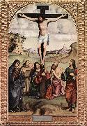 FRANCIA, Francesco Crucifixion xdfgs oil