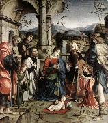 FRANCIA, Francesco Adoration of the Child sdgh oil