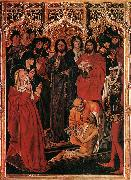 FROMENT, Nicolas The Raising of Lazarus dh oil