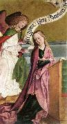 FRUEAUF, Rueland the Elder The Annunciation dh oil