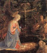 Filippino Lippi The Adoration of the Child oil painting picture wholesale