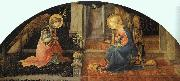 Fra Filippo Lippi Annunciation  ff oil painting picture wholesale