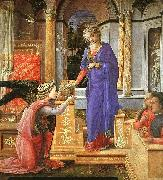 Fra Filippo Lippi Annunciation  aaa oil painting picture wholesale