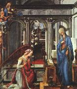 Fra Filippo Lippi The Annunciation   ttt oil painting picture wholesale