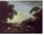 Francesco Zuccarelli Landscape with the Rape of Europa oil painting artist