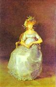 Francisco Jose de Goya Portrait of the Chinchon oil painting picture wholesale