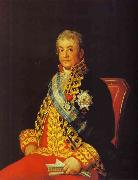 Francisco Jose de Goya Portrait of Jose Antonio, Marques Caballero Kepmasa oil painting picture wholesale