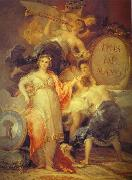 Francisco Jose de Goya Allegory of the City of Madrid. oil painting picture wholesale