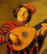 Frans Hals Jester with a Lute Germany oil painting reproduction