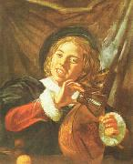 Frans Hals Boy with a Lute Germany oil painting reproduction