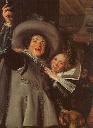 Frans Hals Young Man and Woman in an Inn oil painting artist