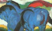 Franz Marc The Little Blue Horses oil painting picture wholesale