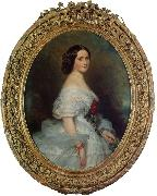 Franz Xaver Winterhalter Anna Dollfus, Baronne de Bourgoing oil painting picture wholesale