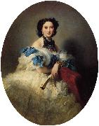Franz Xaver Winterhalter Countess Varvara Alekseyevna Musina-Pushkina oil painting picture wholesale