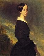 Franz Xaver Winterhalter Francoise Caroline Gonzague, Princesse de Joinville oil painting picture wholesale