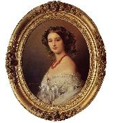 Franz Xaver Winterhalter Malcy Louise Caroline Frederique Berthier de Wagram, Princess Murat oil painting picture wholesale