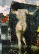 Franz von Stuck Susanna Bathing oil painting artist