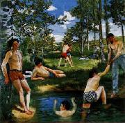 Frederic Bazille Summer Scene Germany oil painting reproduction
