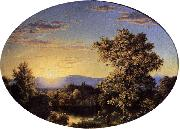 Frederic Edwin Church Twilight among the Mountains oil painting picture wholesale