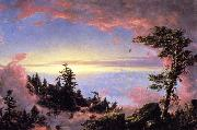 Frederic Edwin Church Above the Clouds at Sunrise oil painting picture wholesale