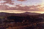 Frederic Edwin Church Ira Mountain, Vermont oil painting picture wholesale