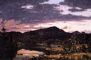 Frederic Edwin Church Lake Scene in Mount Desert oil painting picture wholesale