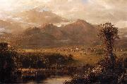 Frederic Edwin Church Mountains of Ecuador oil painting picture wholesale