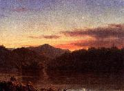 Frederic Edwin Church The Evening Star oil