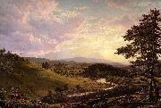 Frederic Edwin Church Stockbridge,Mass. oil