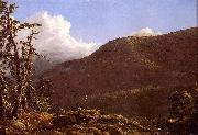 Frederic Edwin Church New England Landscape oil