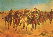 Frederick Remington Dismounted oil painting picture wholesale